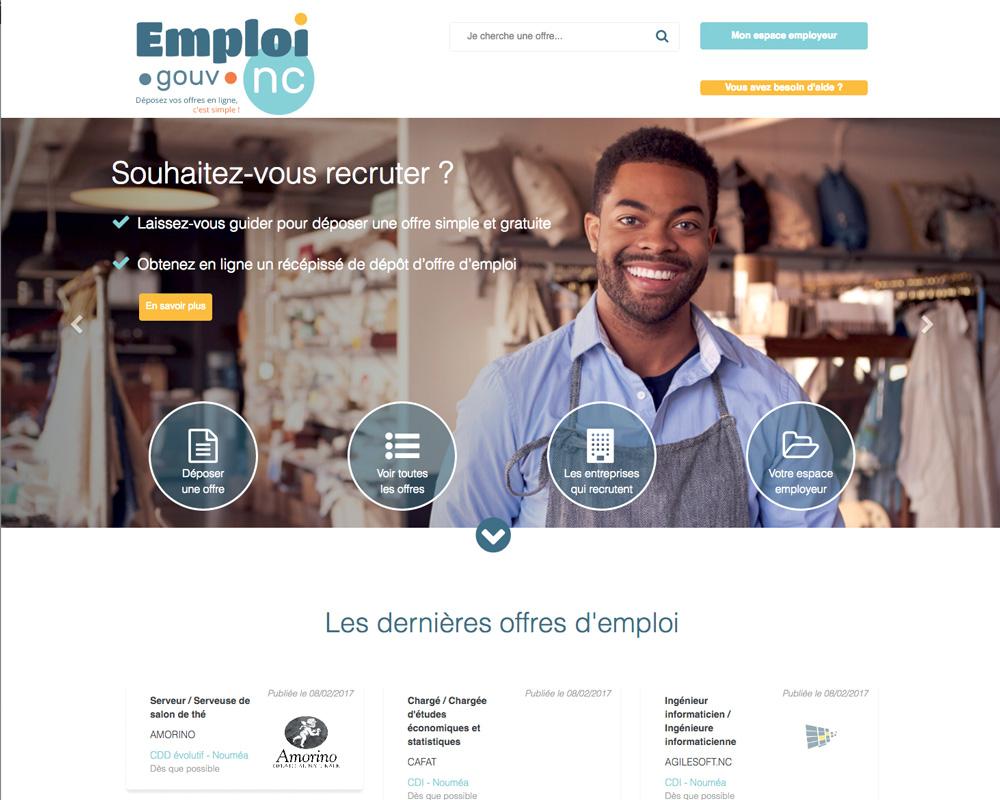 Un nouveau site pour trouver un emploi dnc nc for Site pour trouver hotel